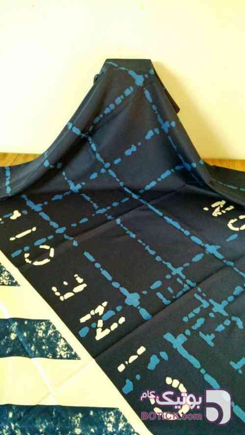 روسری ابریشم توویل مشکی شال و روسری