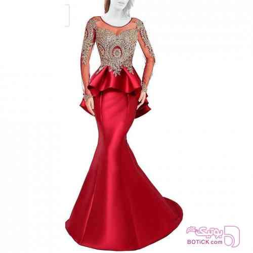 لباس مجلسی قرمز لباس  مجلسی