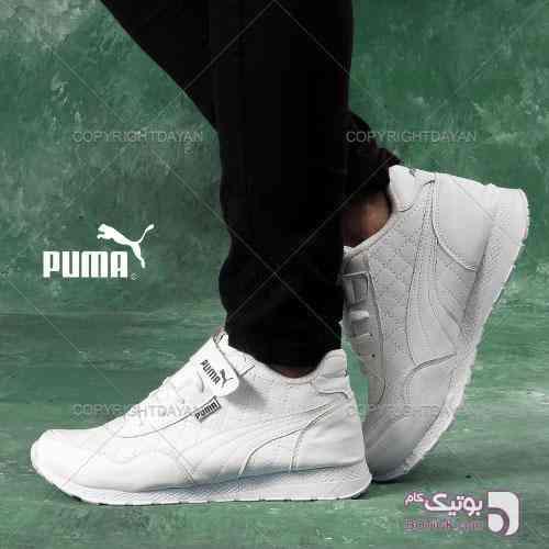 کتانی اسپرت puma سفید 97 2018