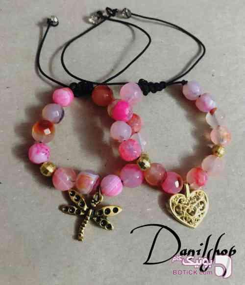دستبند سنگ عقيق مشکی دستبند و پابند