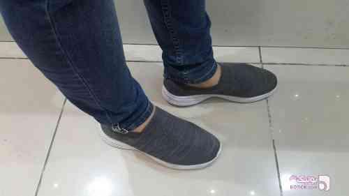 کفش طرح اسکچرز سفید كفش مردانه