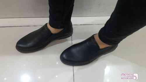 کفش طرح moda مشکی كفش مردانه