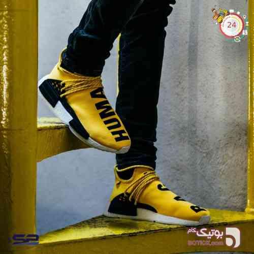 کتانی آدیداس ان ام دی Adidas NMD Human  زرد کفش ورزشی