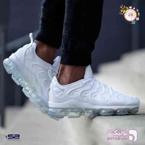 کتانی رانینگ نایک واپرمکس Nike Vapormax سفید کفش ورزشی