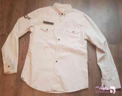 پیراهن لی سفید پيراهن مردانه