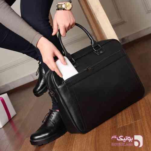 کیف مردانه مشکی كيف مردانه