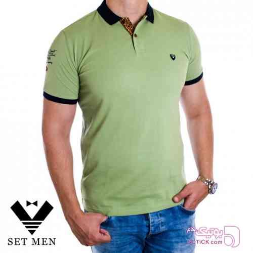 تی شرت سبز تی شرت مردانه