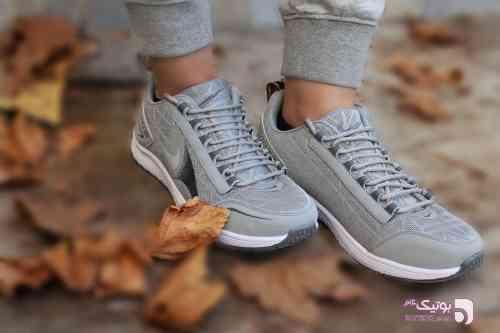 کفش مردانه NIKE طوسی کفش ورزشی