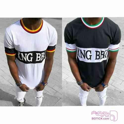تی شرت king brothers مشکی تی شرت مردانه