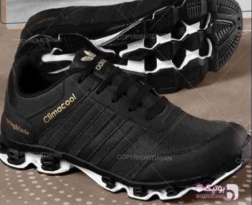 کفش آدیداس مردانه  مشکی كتانی مردانه