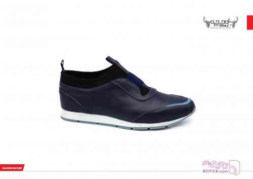 کفش چرم زنانه مشکی كفش زنانه