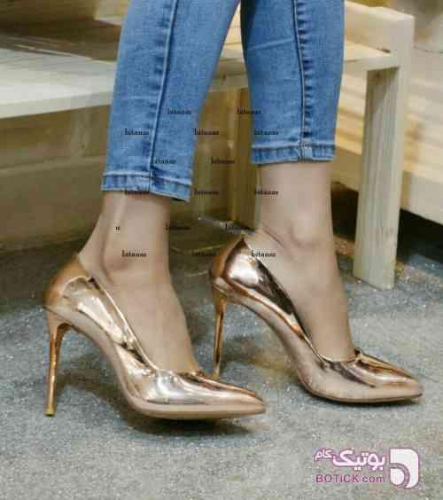کفش مجلسی مارک الیف ترکیه زرد كفش زنانه
