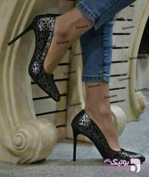 کفش مجلسی مارک الیف ترکیه مشکی كفش زنانه