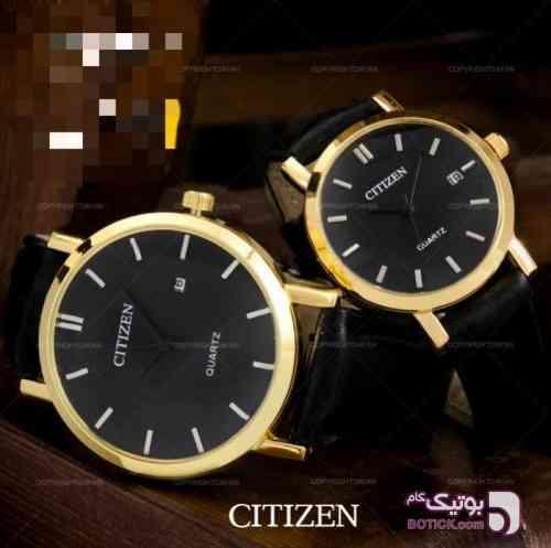 ست مردانه و زنانه  زرد ساعت