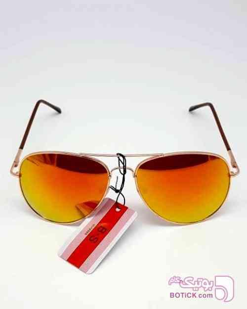 عینک آفتابی B.S Glasses مدل ۸۰۰۶  نارنجی عینک آفتابی