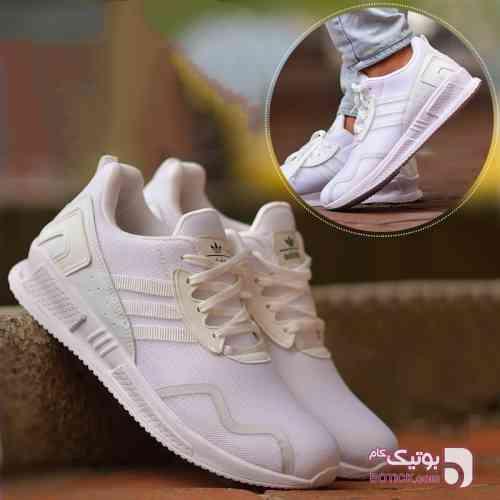 کفش مردانه سفید كتانی مردانه