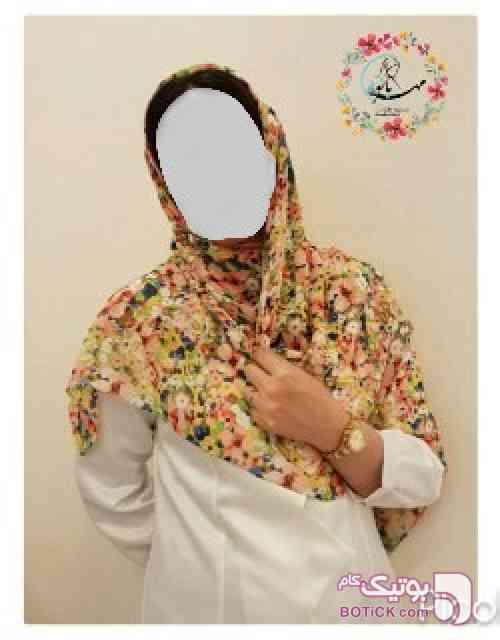 روسري كد 319 زرد شال و روسری