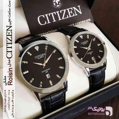 ست ساعت مچی CITIZEN مدل Roisin مشکی ساعت