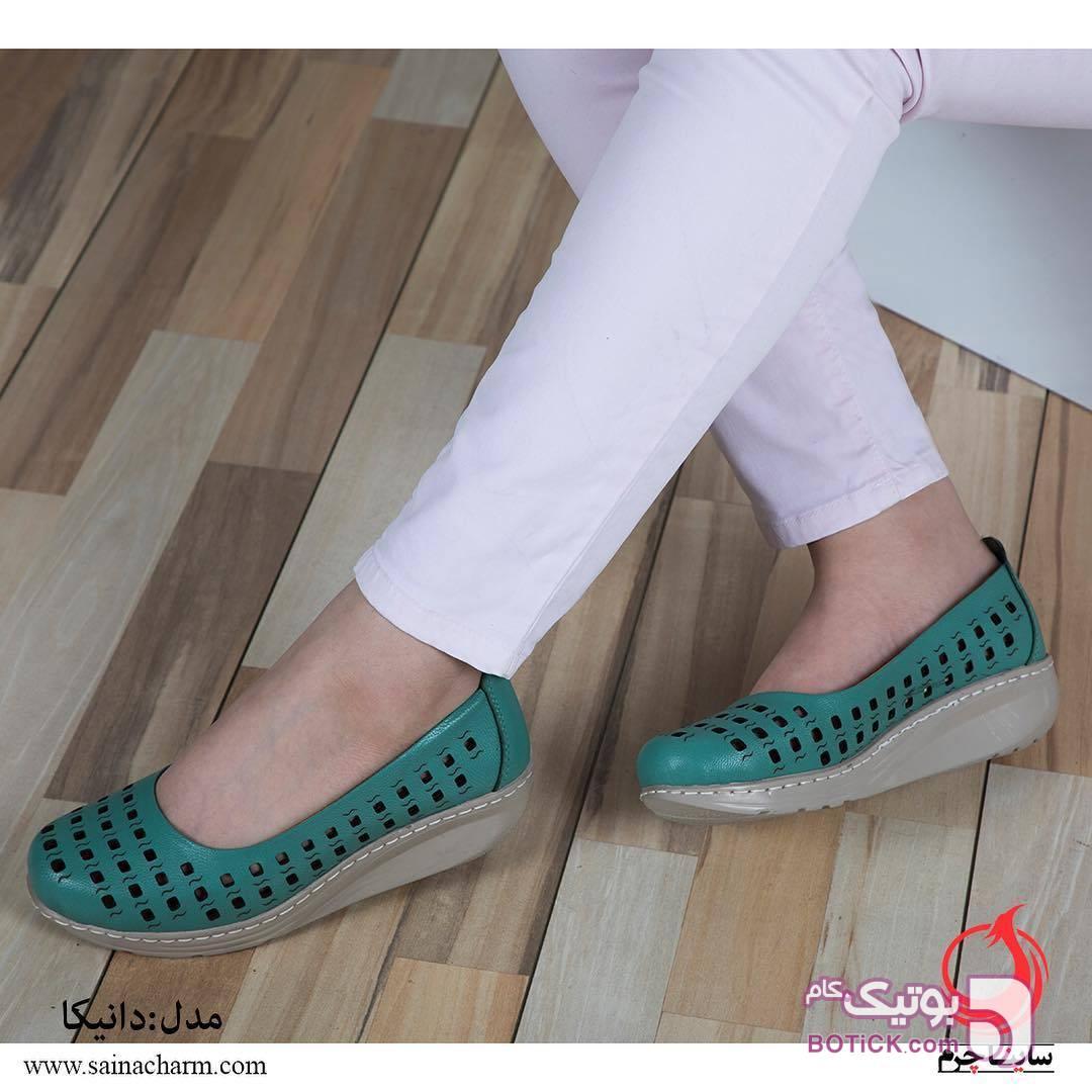 کفش مدل دانیکا آبی كفش زنانه