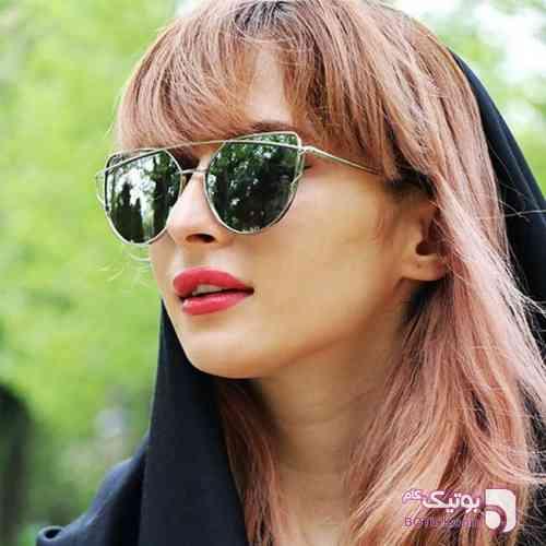عینک آفتابی زنانه Versace سبز عینک آفتابی