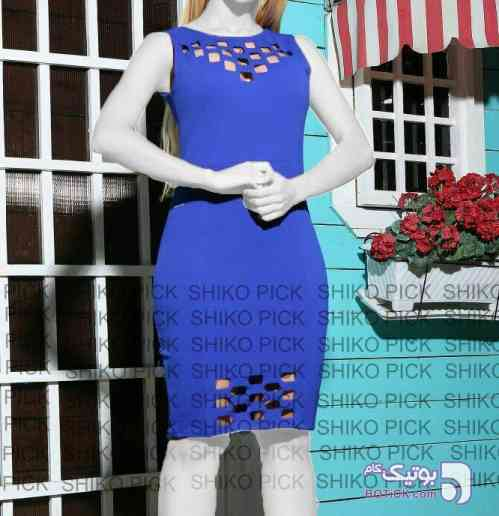 شیوا آبی لباس  مجلسی