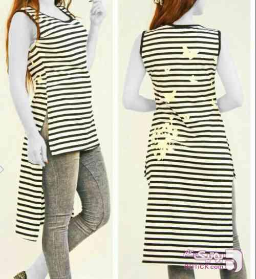 سارافون شیک پشت بلند مشکی لباس راحتی زنانه