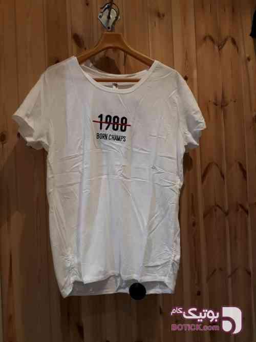 تیشرت سفید تی شرت زنانه