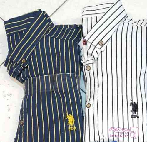 پیراهن اسپرت استین کوتاه زرد سایز بزرگ مردانه
