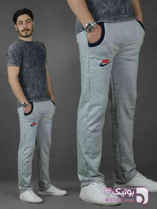 اسلش نایک مشکی لباس راحتی مردانه