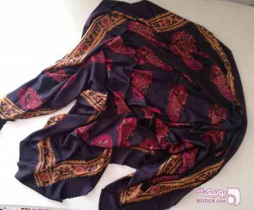 روسری ابریشم  مشکی شال و روسری