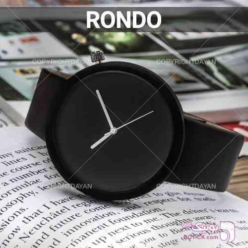 ساعت مچی مردانه Rondo مشکی ساعت