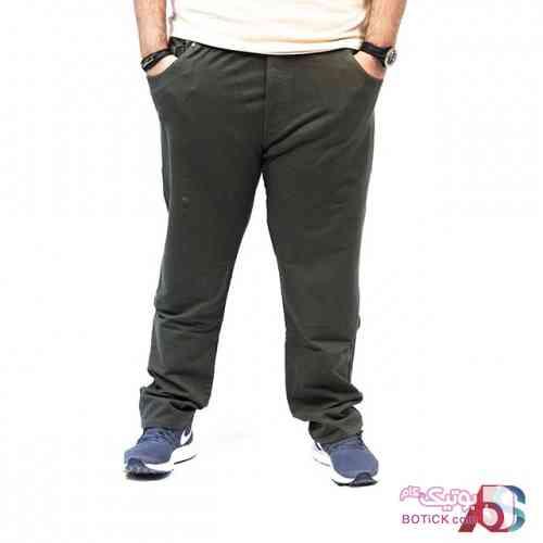 شلوار ورزشی سایز بزرگ کد محصول sbl502 سفید سایز بزرگ مردانه