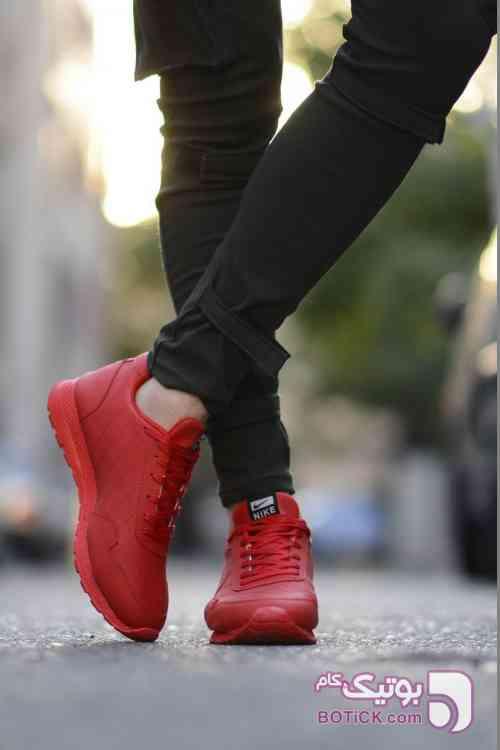 کتانی مردانه NIKE قرمز كتانی مردانه