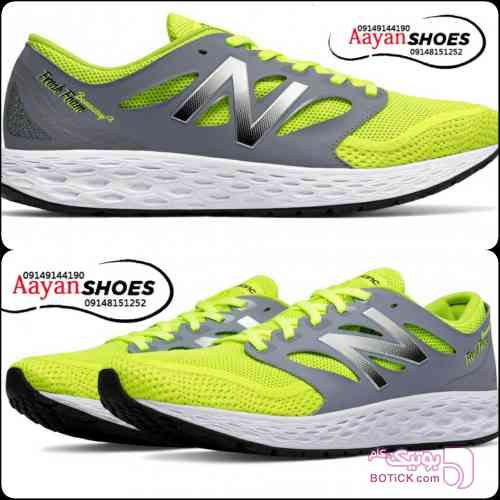 کتونی رانینگ برند نیوبالانس سبز کفش ورزشی