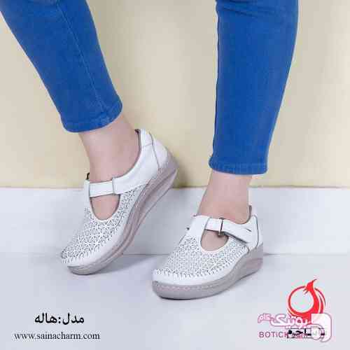 کفش زنانه سفید كفش زنانه
