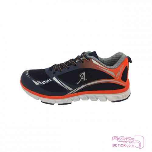کفش مخصوص پیاده روی زنانه آلبرتینی مدل 1026 مشکی كتانی مردانه
