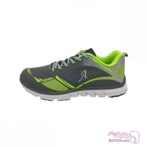 کفش مخصوص پیاده روی زنانه آلبرتینی مدل 1025 سبز كتانی زنانه