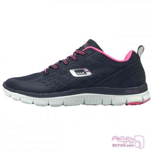 کفش مخصوص پیاده روی زنانه رونی مدل Flex Sole مشکی كتانی زنانه