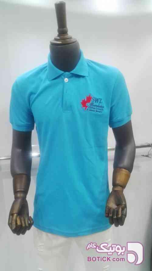 تیشرت آبی تی شرت مردانه