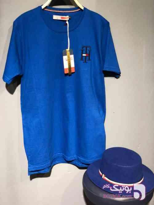تی شرت آبی تی شرت مردانه