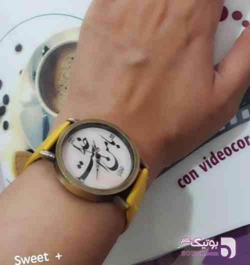 shuj زرد ساعت