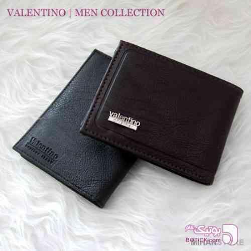 ست کیف و کمربند Valentino مشکی كيف مردانه