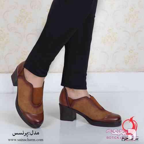 کفش زنانه قهوه ای كفش زنانه