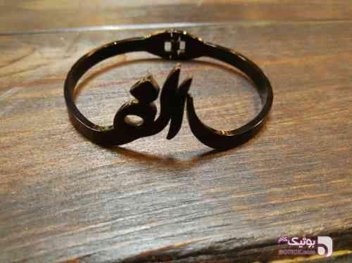 دستبند استیل الف مشکی دستبند و پابند