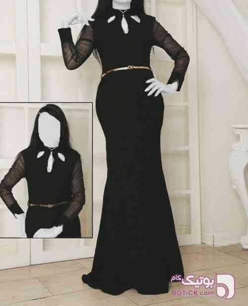 مهرآسا مشکی لباس  مجلسی