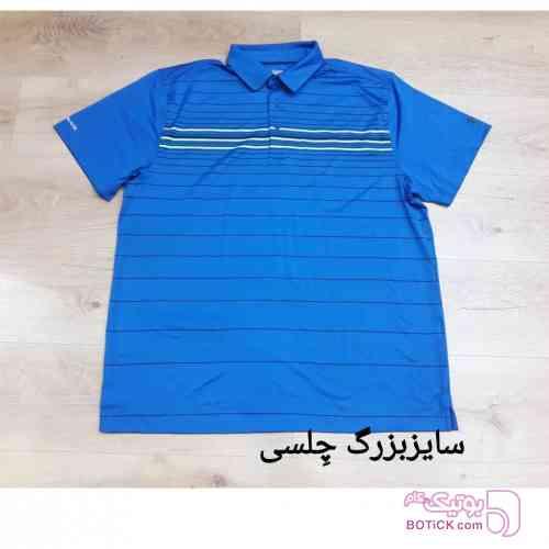 پیراهن آبی تی شرت مردانه