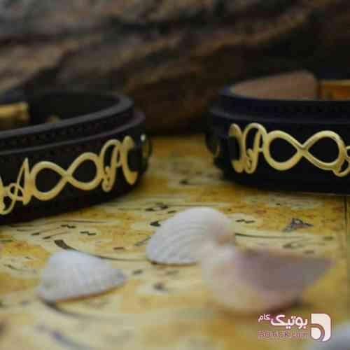 دستبند بی نهایت با جنس برنج طلایی دستبند و پابند
