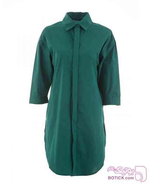 مانتو زنانه جوتی جینز سبز مانتو