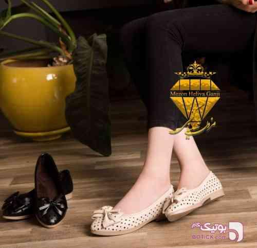 اسپرت پانچي مشکی كفش زنانه