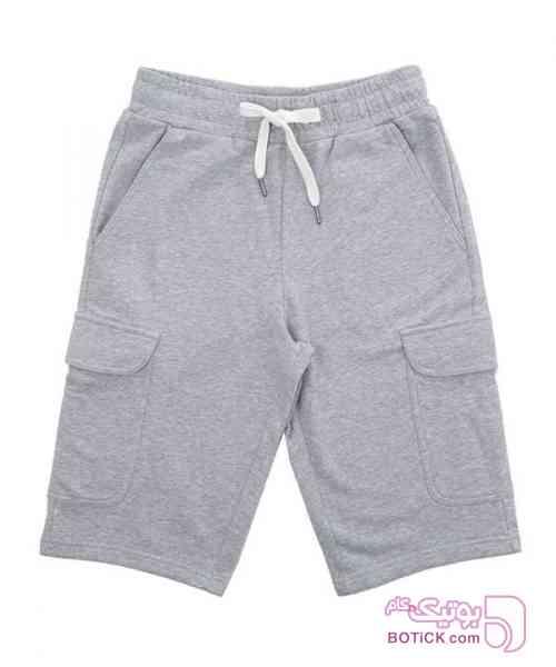 شلوارک مردانه جین وست طوسی لباس راحتی مردانه